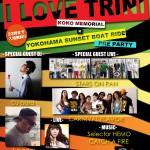 昨夜のUST☆明日I LOVE TRINI@club CACTUS船上PRE PARTY!!!