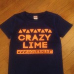 CRAZY LIME Tシャツ完成☆先行予約できます!