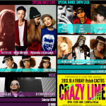 2013/10/4(FRI) TOROCHACHA & I LOVE TRINI presents 「CRAZY LIME」@clubCACTUS