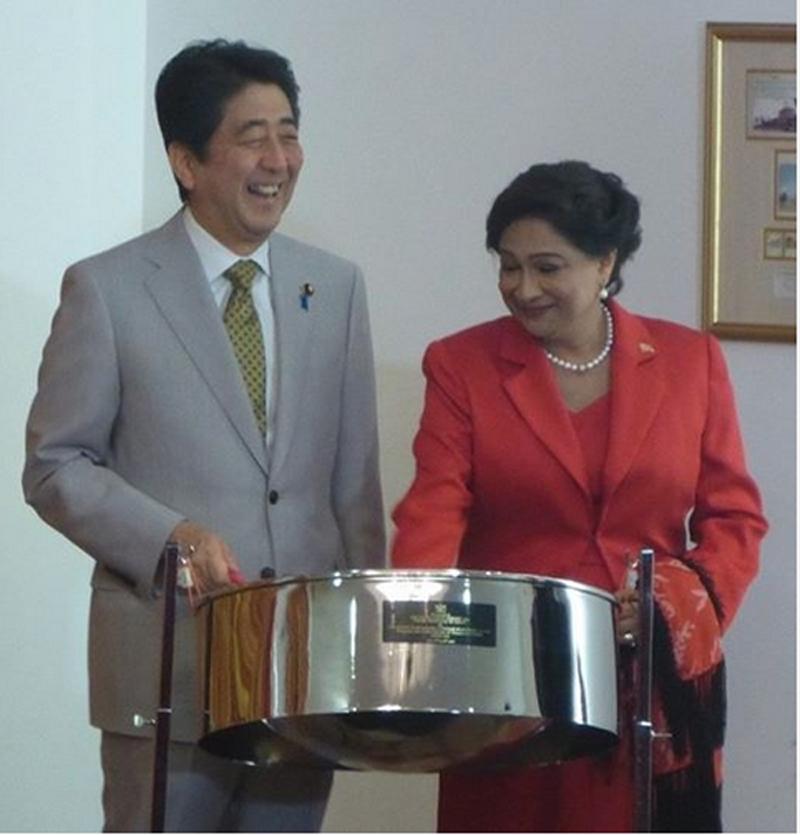安倍総理大臣がトリニダード・トバゴを初訪問しました
