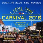 2016.4.1(FRI) I  LOVE TRINI -CARNIVAL 2016-@club CACTUS